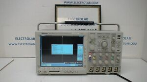 Tektronix Dpo4050 4ch 500 Mhz 2 5gsa s 10m Record Color Digital Oscilloscope