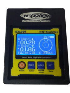 Drp Performance Caster Camber Gauge Digital Carry Case 96500