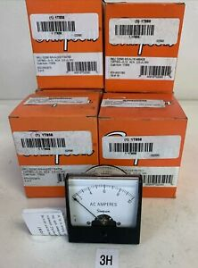 New Simpson 0 10 Ft min Panel Meter Mfr p n 1t858 lot Of 6 Fast Shipping
