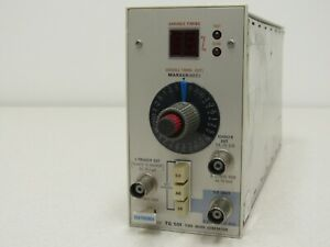 Tektronix Tg501 Time Mark Generator Plug In For Tm500 Tm5000