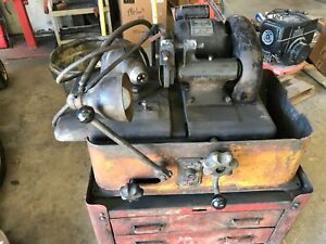 Sioux Valve And Seat Grinder On A Vintage Snap On Brand Tool Chest