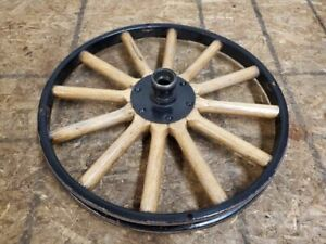 Original Canadian Ford Model T Front Wheel Kelsey Wheel Windsor Ontario