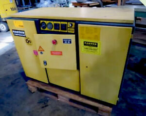 Kaeser 30 Hp 200 Psi Rotary Screw Air Compressor Priced To Sell 3038868005