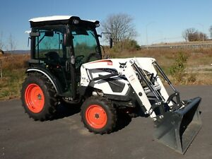 2020 Bobcat Ct2540 Compact Tractor W Loader Cab Heat ac Hydro 4x4 540 Pto