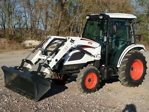 2020 Bobcat Ct5545 Tractor W Loader Cab Heat ac 4x4 540 Pto Hydro 45 Hp