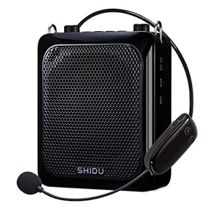 Shidu Wireless Voice Amplifier Protable 25w High Power Pa System With Uhf And