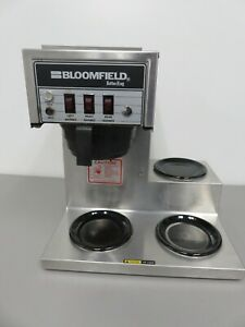 Bloomfield Model 8573 Koffee King 3 Burner Commercial Coffee Maker Tested Works