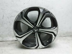 14 15 Honda Civic Si Alloy Aluminum Wheel Rim 42700tr7a91 Scratches Curb Rash