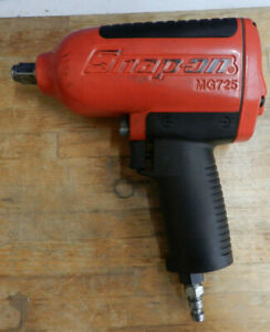 Snap on Tools Super Duty Air Impact Wrench Mg725 1 2 Drive