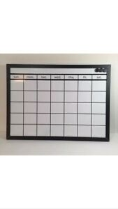 Pottery Barn Monthly Calendar Dry Erase Board Magnetic