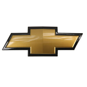 Oem Gm For 2007 2013 Chevy Silverado 1500 Front Grille Bowtie Gold Emblem
