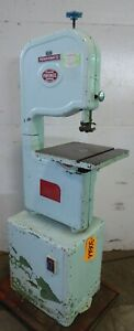 14 Powermatic Woodcutting Vertical Band Saw No 141 15 X 15 Tbl 1 Phase 3