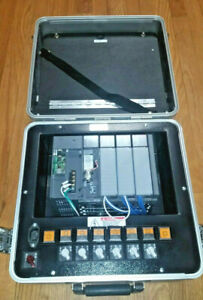 Allen Bradley Plc 1747 demo 7 Slc 500 Training Kit For Parts Or Repair