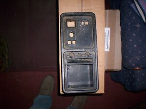 1985 Ford Thunderbird Console Tray And P s p w Switch Bezel
