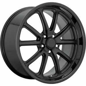 4 New 20 Us Mags U123 Rambler Wheels 20x8 5x5 5x127 1 Black Black Rims 78 1