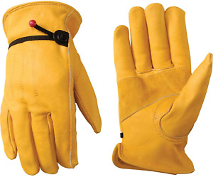 Wells Lamont Premium Leather Work Gloves 100 Cowhide Leather 3 pack 3 pairs