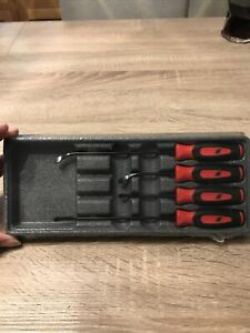 Snap On Mini Seal Removal Set 4 Piece In Soft Grip Red New