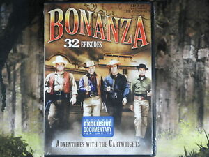 Bonanza DVD Brand New Unopened 32 Episodes Adventures With The Cartwrights $7.00