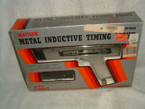 Vtg Suntune Metal Inductive Timing Light Cp7515 New In Open Box Heavy Duty