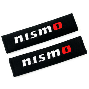 Cotton Car Seat Belt Cover Shoulder Pads Safety Cushion For Nismo Comfort Pads