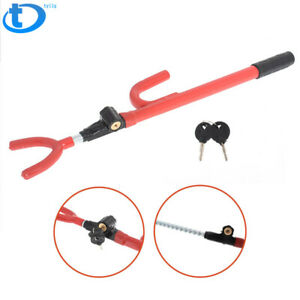 Universal Anti theft Car Steering Wheel Lock Security System Van Car Suv Truck