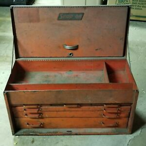 Vintage Snap On Tools 6 Drawer Tool Box Chest Pick Up Only