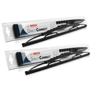 Bosch Direct connect Wiper Blade set Of 2 Front 26 16