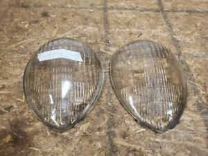 1937 Ford Headlight Tear Drop Headlight Lens Set 81a13060