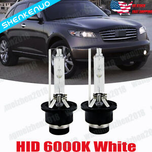 Hid Headlight Bulb For Infiniti Fx35 2003 12 Low High Beam Stock Fit Xenon White