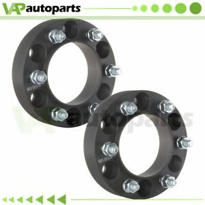 1 5 Thick 2pc Wheel Spacers 6x5 5 12x1 5 For Toyota 4runner Tacoma Fj Cruiser