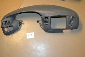 1997 2003 Ford F150 Expedition Dash Pad Oem Bezel Grey Free Shipping