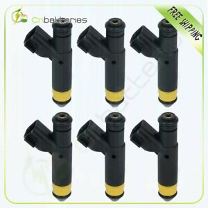 6 Fuel Injectors For 2001 2002 2003 Ford F 150 4 2l 2000 2001 Ford Mustang 3 8l