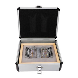 Optical Progressive Lens Set 22pcs Ophthalmic Trial Lens Set Trial Lenses Case