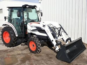 New 2020 Bobcat Ct5545 Compact Tractor Loader Cab Heat ac Hydro 4x4 45 Hp