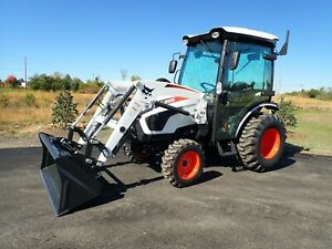 New 2020 Bobcat Ct2535 Compact Tractor W loader cab Heat ac 4x4 hydro 540pto