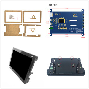 For 5 Inch Raspberry Pi Lcd Hdmi Display Case Hd Capacitive Touch Screen Stand