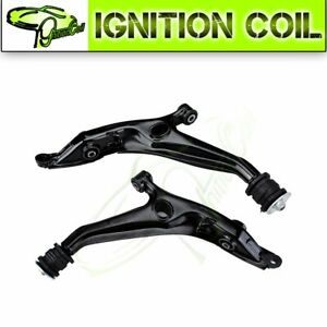 New 2pc Front Steering Parts Trailing Control Arm For 1996 2000 Honda Civic
