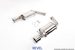 Tanabe Revel Medallion Touring S Axle Back Dual Exhausts For 92 00 Lexus Sc