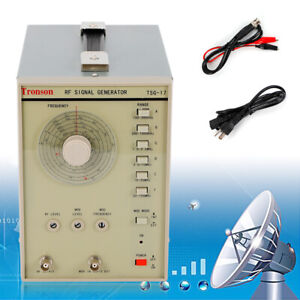 100khz 150mhz High Frequency Rf am Radio Frequency Signal Generator With Cable