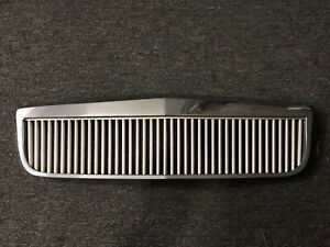 2000 2005 Cadillac Deville E g Classic Vertical Bar Chrome Grille Grill