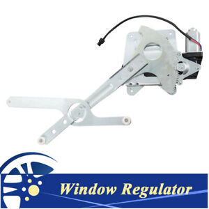 Front Driver Window Regulator Withmotor For 1994 2004 Chevy S10 Gmc Sonoma 741 844
