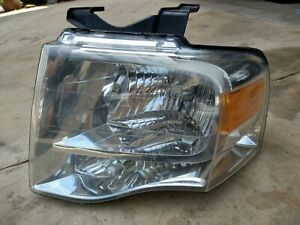 2007 2014 Ford Expedition Oem Lh Driver Side Headlight 44zh 1860