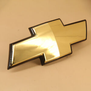 Oem Front Gold Emblem Grille Mounted Bow Tie For Chevy Avalanche Suburban Tahoe