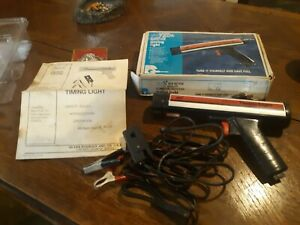 Sears Craftsman Clamp On Inductive Timing Light 28 21174 With Box Instructions