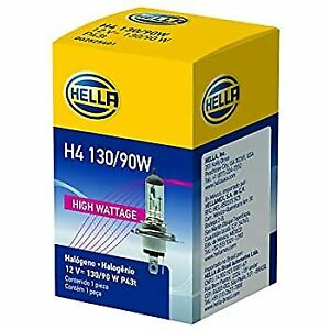 Hella H4 130 90w Series Halogen Bulb For Off road Use Only 130 90 W 12 V