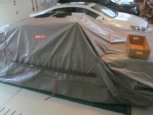 Car Cover Car Jacket Drive In And Zip Up Enclosed Car Cover