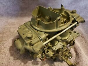 Holley 650 Cfm Spreadbore Vacuum Secondary Carb Carburetor List 8546