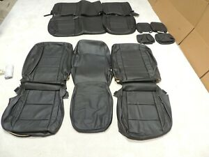 Katzkin Leather Seat Covers Fits Nissan Titan King Cab Sv 2012 2013 2014 A61