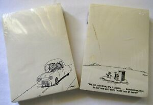 The Far Side Note Pads gary Larson lot Of 2 1982 1985 new sealed