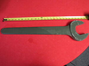 Huge Fairmount Tools Military Tank Track 3 1 8 Open End Wrench 16lbs 26 long